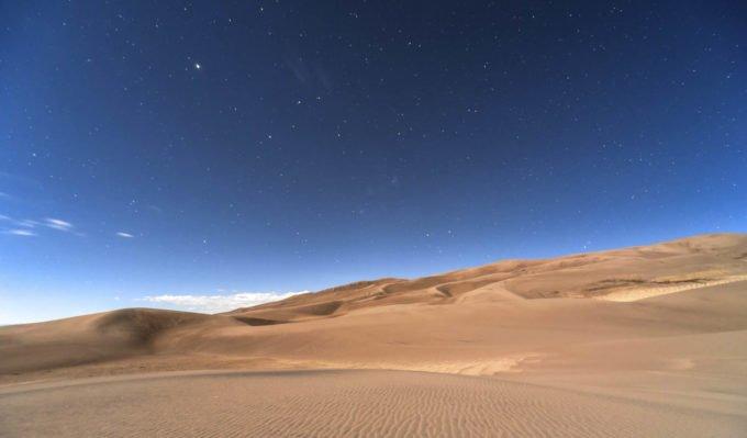 Африка | пустыня пески