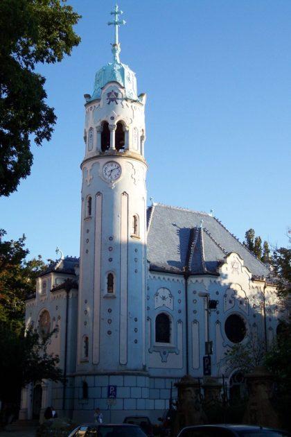 Niebieski Kościół św. Elżbiety