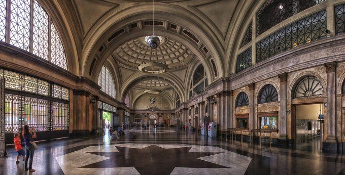 Barcelona dworzec kolejowy