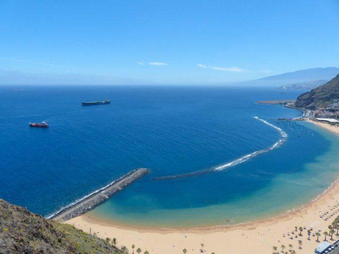 Plaża Playa de las Teresitas