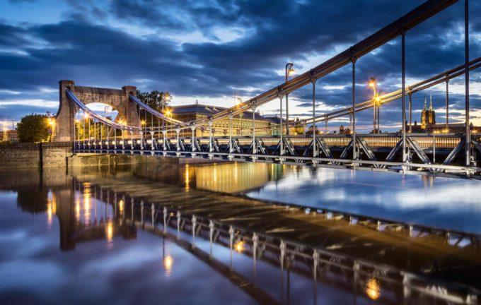 największa ilość mostów