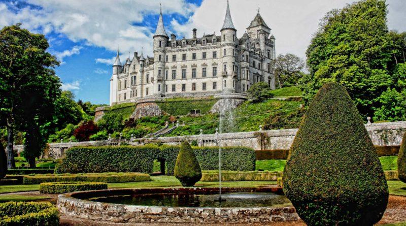 Dunrobin zamek Szkocja