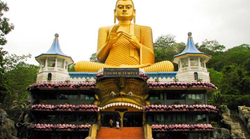 Złota świątynia w Dambulla