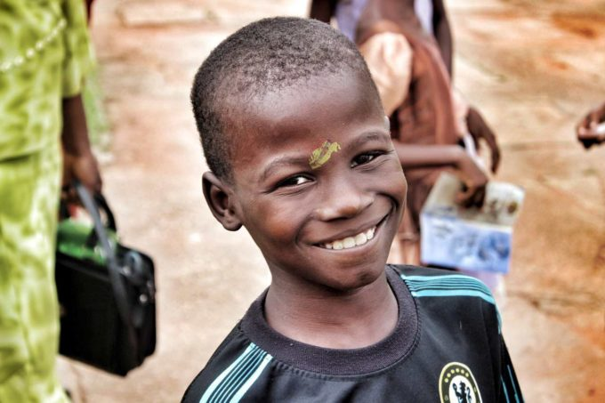 dziecko z Nigerii