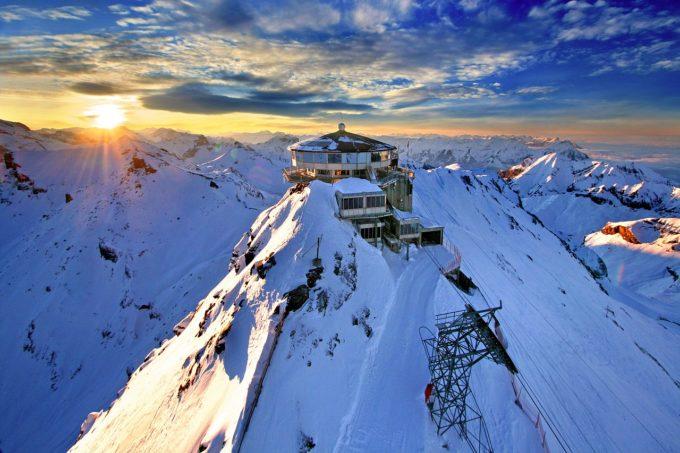 kolejka górska w Szwajcarii