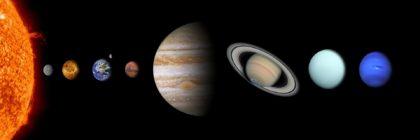 10 ciekawostek o układzie słonecznym