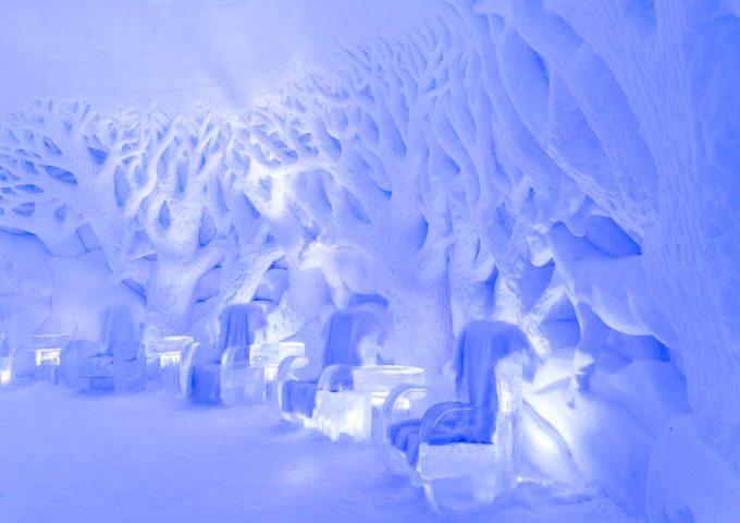 lodowy hotel Kirkenes