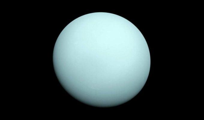 uran planeta