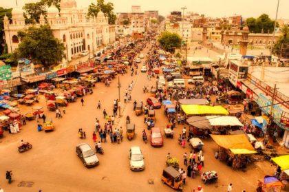 Informacje i ciekawostki o mieście Hajdarabad w Indiach