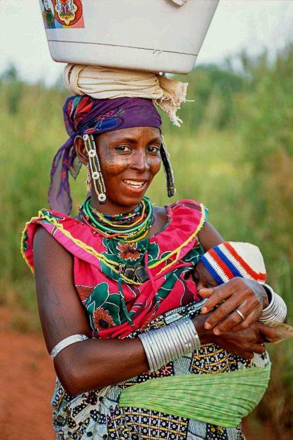 kobieta z Benina