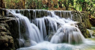 Wodospady Kuang Si