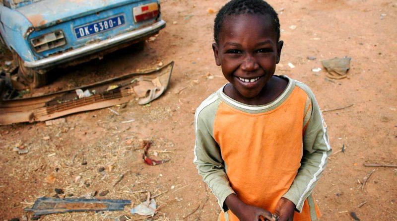 dziecko z Senegalu