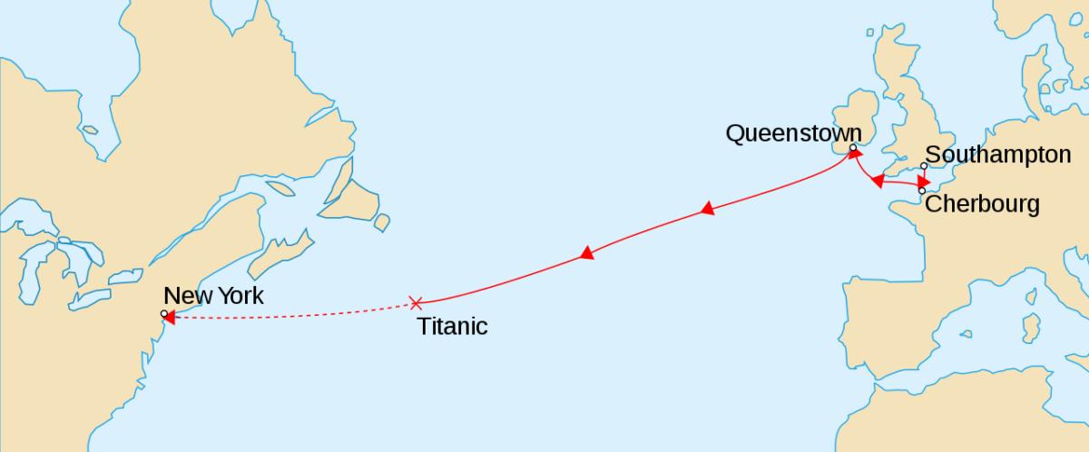 trasa statku