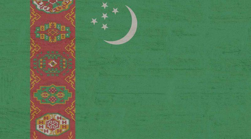 Turkmenistan flaga