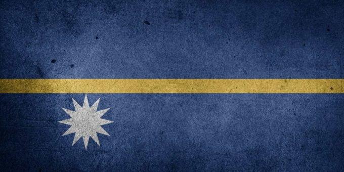 Nauru flaga