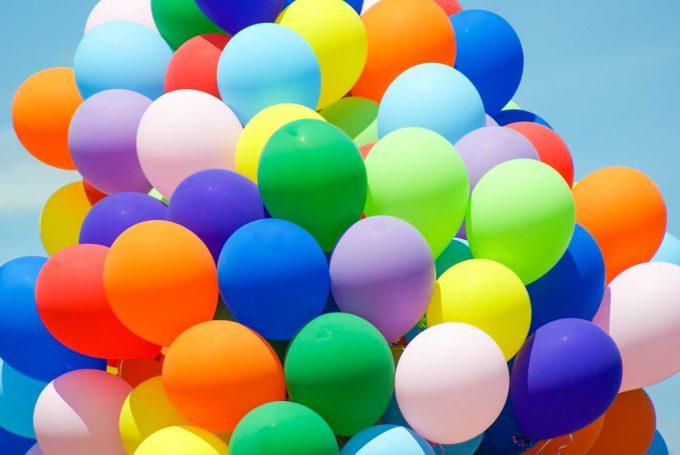 balony na festynie
