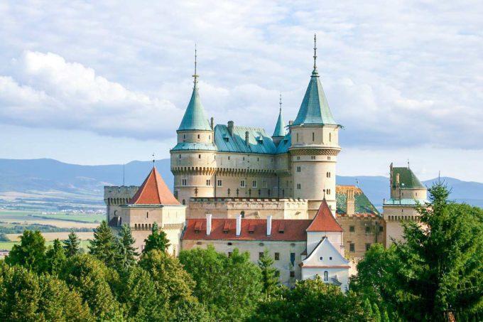 Zamek na Słowacji