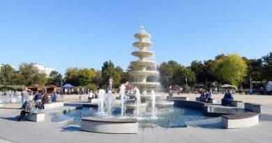 fontanna w Pile