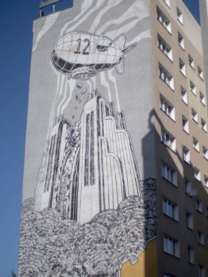 murale zaspa