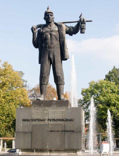 Pomnik Wincenty Pstrowski