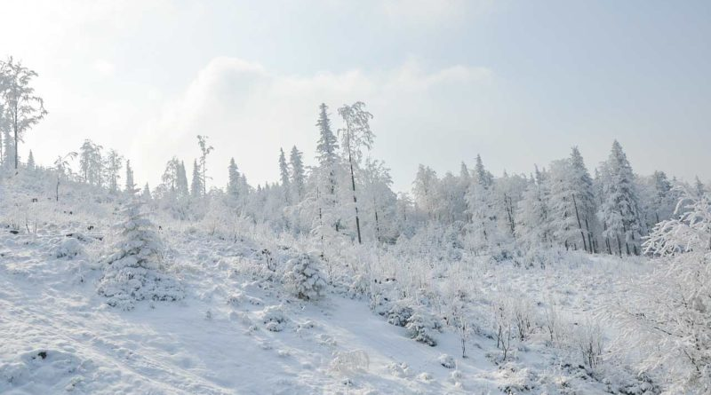 zima w Szczyrku