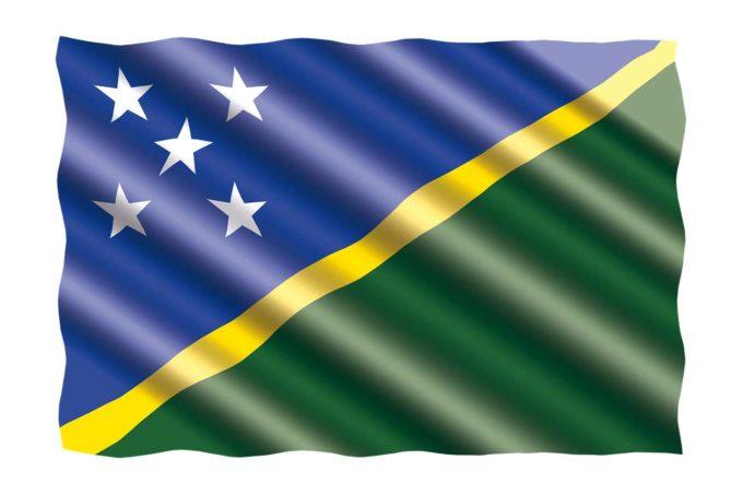 Wyspy Salomona flaga