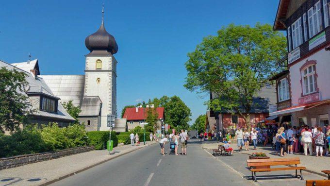 centrum Karpacza