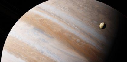 Informacje i ciekawostki o planecie Jowisz dla dzieci