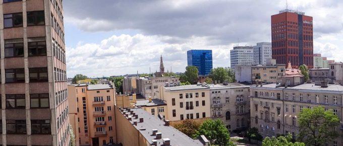 panorama Łodzi