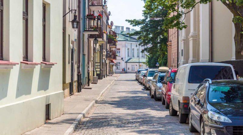 Ulica w Płocku