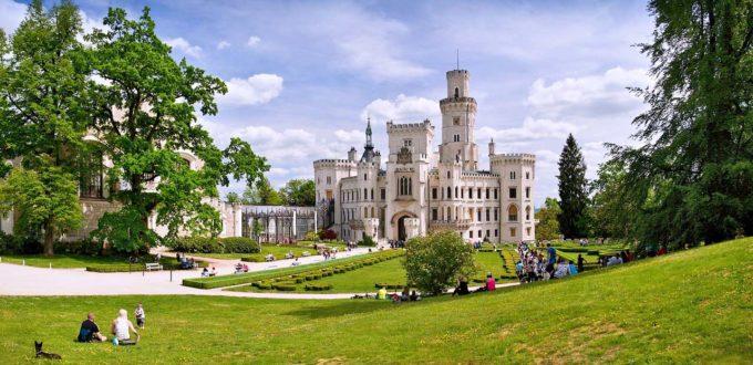 zamek w Czechach