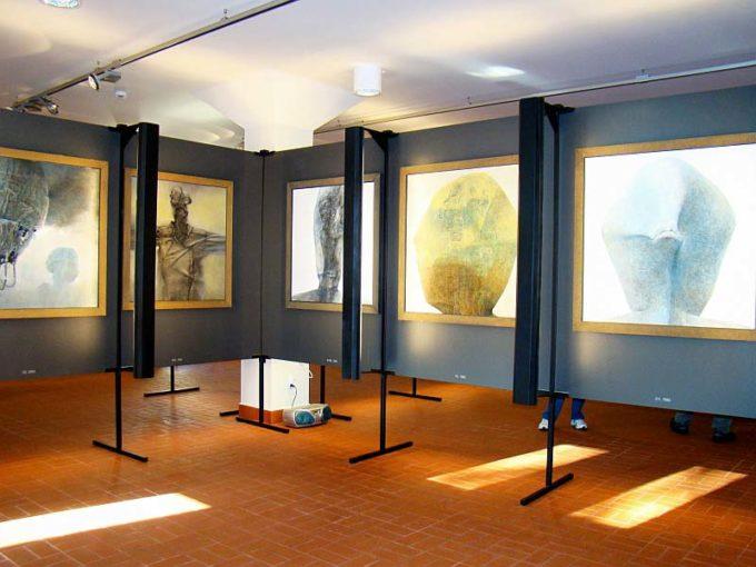 Beksiński galeria