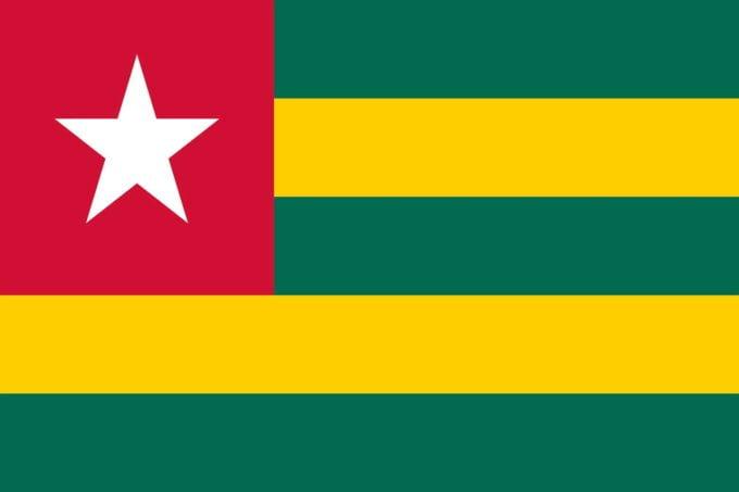 flaga Togo