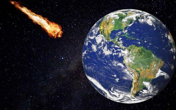 kometa i ziemia