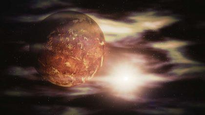 Informacje i ciekawostki o planecie Wenus dla dzieci