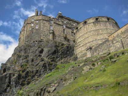 13 ciekawostek, informacji i faktów o zameku w Edynburgu