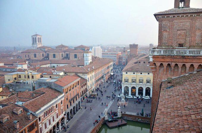 miasto Ferrara
