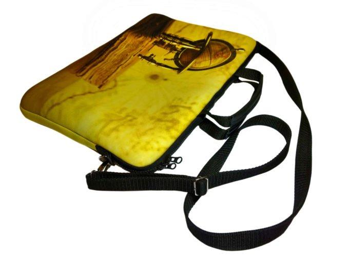 żółta torba