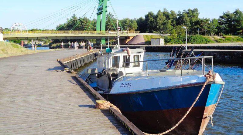łódka rybacka