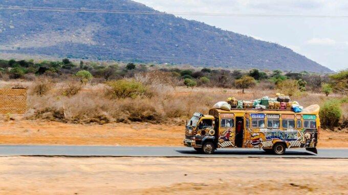 autobus w Kenii