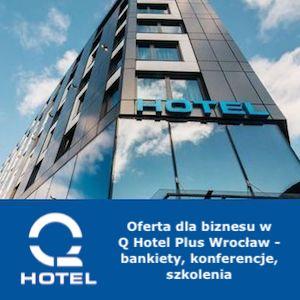 q hotel we Wrocławiu centrum fasada