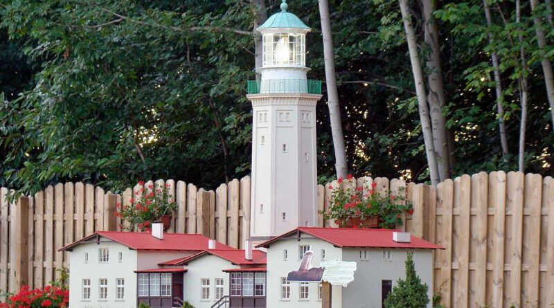 park miniatur: latarnia morska
