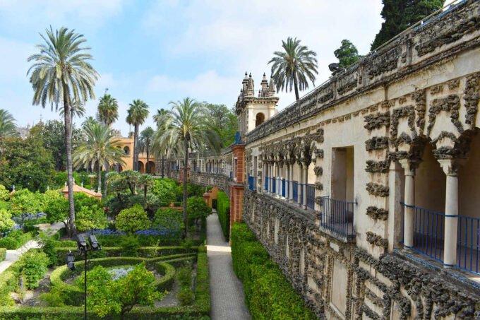pałac w Sewilli