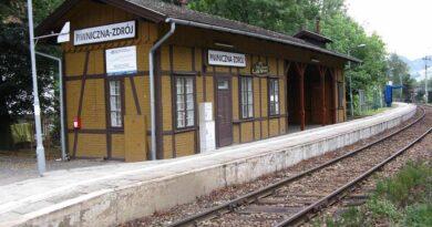dworzec w Piwnicznej Zdrój