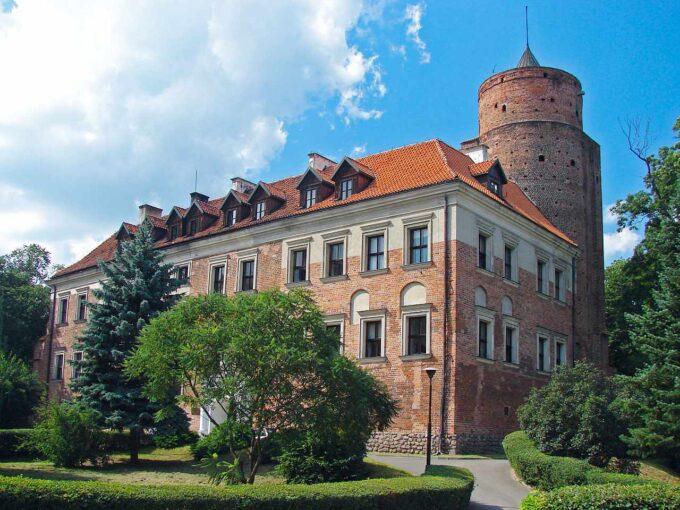 Zamek w Uniejowieq