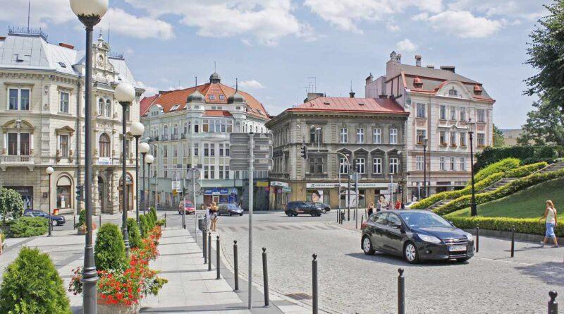 centrum miasta Bielsko-Biała