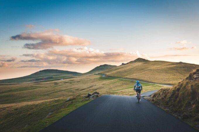 asfaltowa trasa rowerowa