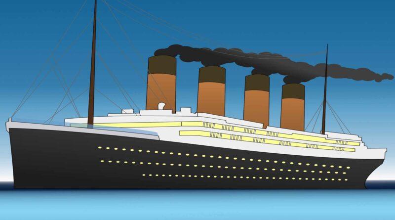 Titanic grafika