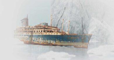 zatonięty statek