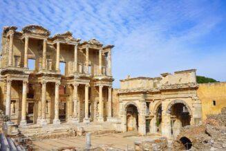 Biblioteka Celsusa w Efezie w Turcji - Ciekawostki, Informacje i Fakty